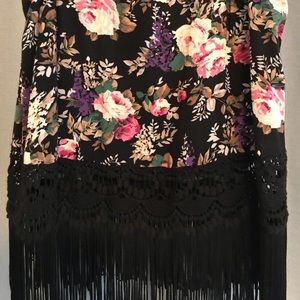 Forever 21 Tops - Floral & Fringe - A Boho Match Made in Heaven!